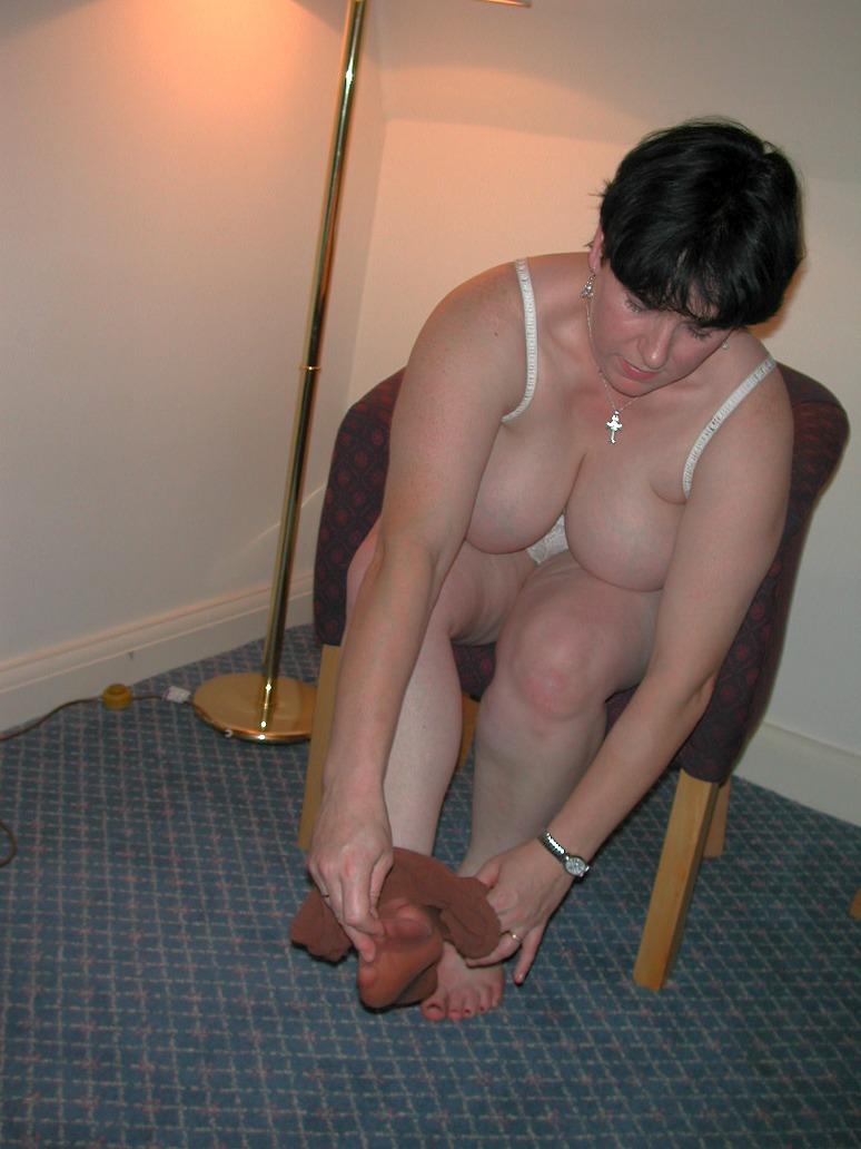 Hausfrauenhängetitten